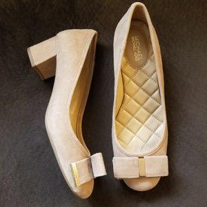 Michael kors block heels size 6 (new)